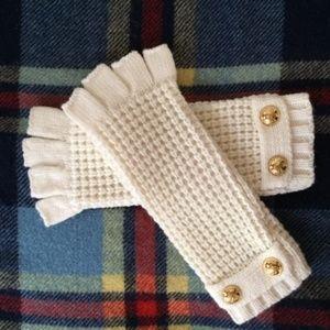 Michael Kors Logos Fingerless Gloves